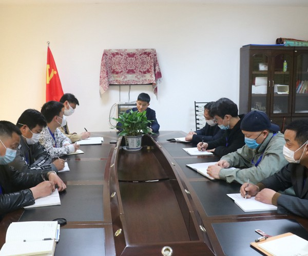 The group organized the second meeting of the leading group for investment promotion